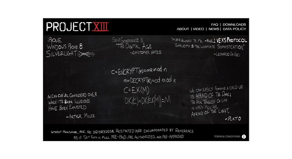 Project XIII